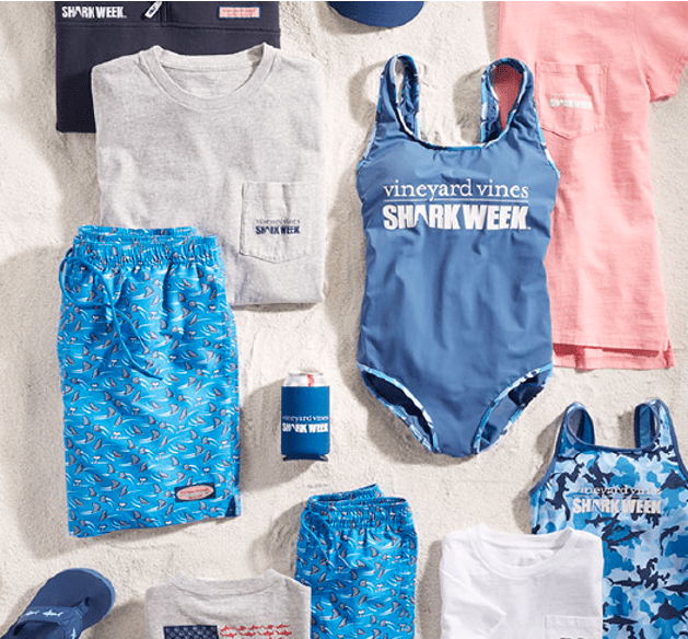 Vineyard Vines Shark Week Collection